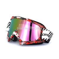 Gafas protectoras de motocicleta para adultos Casco flexible de cross country Gafas de motocross Gafas MX