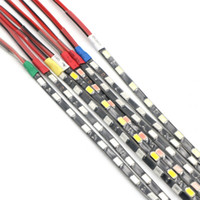 Wholesale Wired Blue Led 5mm - 90CM Pcs SMD 5730 Led Flexible Strip Tape 60leds Pcs Waterproof Narrow PCB 5mm Width White Blue Red Ice Blue
