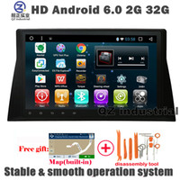 Wholesale Dvd Player For Honda - QZ HD 1024*600 Android 6.0 car DVD player for Honda Accord 8 North American Version with 3G 4G GPS WIFI BT Radio navigation Maps free map