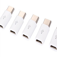 заводская розетка c оптовых-Оптовая свободный корабль USB 3.1 Type-C мужчина к Micro USB женский мини разъем адаптер Тип C заводские розетки