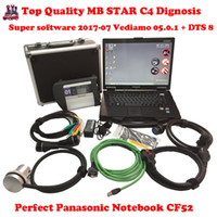 Wifi C4 Xentry Baratos-CF52 + MB Star C4 SD Conectar + SSD 2015.09 Xentry Diagnostics System Compact 4 Mercedes Diagnóstico Multiplexor Para Benz Diagnose