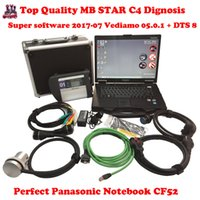 Barato Diagnóstico Compacto-CF52 + MB Star C4 SD Connect + SSD 2015.09 Xentry Diagnostics System Compact 4 Mercedes Diagnosis Multiplexer para Benz Diagnosticar