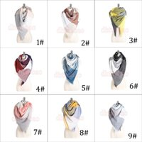 Wholesale Scarf Assorted - MOQ=10 PCS New TOP Quality Women Assorted Colors Plaid Over Sized Scarves Square Pashmina 140*140 cm 9 Colors Free Shipping
