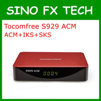 Wholesale Satellite Receiver Sks Iks - Freeship tocomfree s929 ACM South America satellite receiver with iks sks iptv nagra3 free Support newcam cccam power vu