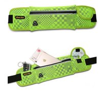 Wholesale Design Bounce - Sports Bag Running Belt waterproof Waist Pack Compact Bounce Free Design Expands to Carry Phone and Other Essentials out1461