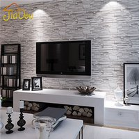 Pays Vintage Stone Brick Background Mural Mur PVC Imperméable Papier Peint Papier Papier De Parede Tapete Decor 5.3SQM / Roll