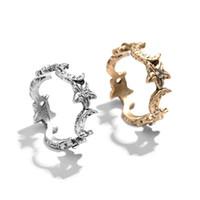 encaixes para jóias venda por atacado-Europa das mulheres e eua estilo retro diamante-incorporado anel gótico snap rua anel básico criativo original do projeto original das mulheres anel de jóias