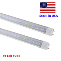 Wholesale fluorescent work lamps - 4 Foot LED Light 4ft 18W 22W 28W LED Work Light T8 LED Tube SMD 2835 for Replace Fluorescent Bulb Lamp AC85-265V