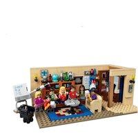 Wholesale Amy Toys - Lepin 16024 The Big Bang Theory Block Set Leonard Sheldon Penny Howard Raj Amy Bernadette Building Block Kids Toy