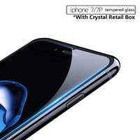 """Wholesale Gorilla Glass Screen - 0.26mm 2.5D 9H Gorilla Tempered Glass LCD Screen Film PROTECTOR Screen Guard for 5.5"""" iPhone 7 7plus 6s 6sPlus 5S SE 4S With Retail Box"""