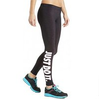 """Wholesale Tight Fit Women - Women's Sexy Pants Capris """"JUST DO IT"""" Letter Sport Skinny Stretchy Pants Tight fitting Elastic Slim Fitness Pencil Trousers DDK12 FP RF"""