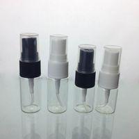 ingrosso pompe acqua di bottiglia-7ml 10ml Atomizzatore Riutilizzabile Pompa Spray Bottiglie Bottiglia di profumo Bottiglia di profumo Bottiglie di acqua aromatica Viaggi Bottiglia di profumo vuota