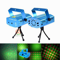 Christmas mini GreenRed Laser DJ Party Party Light 150mW Disco Dance Lampes de sol Mini Laser Stage Lighting