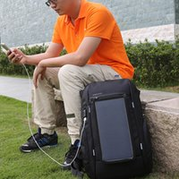 Wholesale Solar Pocket Power - KINGSONS Solar Power Charging Waterproof Laptop Backpack for 15 Inch Computer Men and Women Anti-theft Bag Travel Bacpack