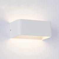 lampe murale 15w achat en gros de-LED Mur Lampes 5W 10W 15W AC85-265V Moderne Simple Chambre Lumières Intérieur Salle À Manger Couloir Éclairage Aluminium Matériel