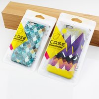 Wholesale Retail Display Bags - 500pcs Wholesale High Quality Retail Zipper Packaging Bags Zip lock bags For Smart Phone Case For iPhone6 7 7plus Plastic Bag For Display