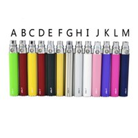 Wholesale Match Free Ego - EGO Battery for Electronic Cigarette E-cig Ego-T 510 Thread match CE4 atomizer CE5 clearomizer CE6 650mah 900mah 1100mah DHL Free