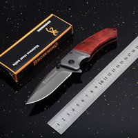 Browning F82 Tactical Folding Knife Outdoor Camping Survival Pocket EDC Faca Folding Militar