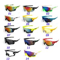 Wholesale Sport Racing Sunglasses - Cycling Sunglasses Racing Sport Cycling Glasses Mountain Bike Goggles Jawbreaker Cycling Eyewear Mirrors Glasses Frame Sunglasses