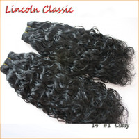 """Wholesale Curly Virgin Hair Jet Black - Lincoln Classic Hair 14"""" Brazilian Curly Human Hair Weave 1 Bundle Natural Color #1 JET Black 8-28 inch Remy Curly Weave Human Hair Bundles"""