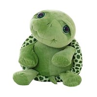 Wholesale Stuffed Green Turtle - Children Baby Big Eyes Turtle Plush Toy Turtle Doll Turtle Stitch Plush Toys Christmas Gifts for Kids