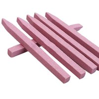 uña pulida rosa al por mayor-Al por mayor-1PC Pink Stone Nail Files Cuticle Remover Trimmer Buffer Buffing Nail Art Pedicure Manicure Herramientas