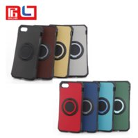 Wholesale free clip x - 2 in 1 Kickstand Phone case for Iphone 8 High Quality phone case with ring for Iphone 7 iphone x free shipping