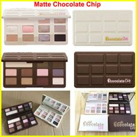 Wholesale White Eyeshadow Shimmer - High-quality Makeup Chocolate Chip Eye Shadow Palette MATTE or WHITE 11 Color limited edition Chocolate Eyeshadow Palette free shipping