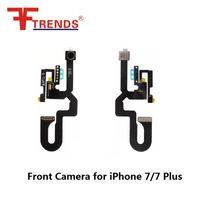 Wholesale Original Spare Parts - New Original Front Camera Cam Ribbon Lens Flex Cable Spare Part Replacement kits for iPhone 7 7 Plus