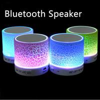 Wholesale bluetooth speakers box resale online - Portable A9 LED MINI Wireless Bluetooth Speaker TF USB Music Sound Box
