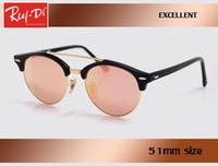 Wholesale Hd Coat - 2017 Rlei di HD uv400 Pink fashion women Sunglasses retro club Brand Men Sun glasses Coating Drive gafas De Sol master gradient eyeglass.