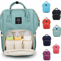 Wholesale Diaper Travel - Diaper Bags Mommy Backpack Nappies Backpack Fashion Mother Maternity Backpacks Outdoor Desinger Nursing Travel Bags Organizer OOA2184