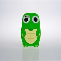 Wholesale Turtle Phone Case - 3D Cute Turtles Cartoon back phone case cover for Samsung with favorable price Soft Silicone phone shell