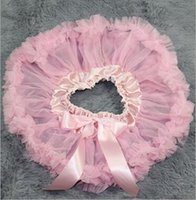 Wholesale Korea Skirt Nylon - Baby Pettiskirts Tutu Skirt Korea Style baby Photography Clothing bowknot tulle Girl's Pleated dresses Costume Photo Free shipping G076