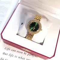 reloj de aleación de diamantes al por mayor-Las mujeres de moda Reloj de aleación reloj de lujo Shine Diamantes señoras Reloj de Pulsera Multi Colores de Alta Grado Famosa hebilla de joyería de diseño Popular