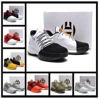 Wholesale Bhm Shoes - 2017 Hot Harden Vol. 1 BHM Black History Month Mens Basketball Shoes Fashion James Harden Shoes Outdoor Sports Training Sneakers Size 40-46