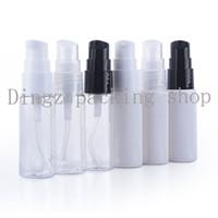 Wholesale glass bottle pump packaging - 50pcs lot 20ml white clear models beak bottle (powder pump),Lotion bottle,refillable bottle,cosmetic packaging
