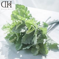 Wholesale Fake House Plants - Dream House DH fake Dusty Miller artificial plant home decoration artificial greenery wedding decoration flower