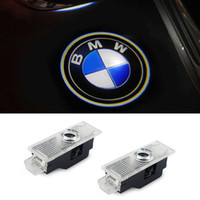 Wholesale Car Door Laser Lights - LED Car Door Courtesy Laser Projector Logo Ghost Shadow Light for BMW X3 X5 E60 E90 F10 F30 M5 Z4 F01