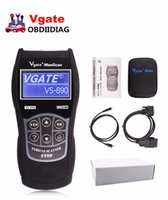 Wholesale Car Diagnosis - VGATE VS 890 OBD2 Automotive Diagnostic Scanner Car Diagnostic tool VGATE VS890 OBDII EOBD CAN Engine Reader for Car Diagnosis