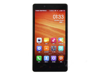 notiztelefon 32g großhandel-Original Xiaomi Redmi Hinweis Handy MTK MT6592 Quad Core 2 GB RAM 8 GB ROM 5.5 Zoll IPS 13.0MP Android LTE Telefon