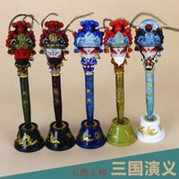 Wholesale Light Facebook - Sichuan Chengdu souvenirs Sichuan elements three characters painted ornaments pen Facebook stereo technology