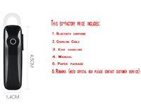 Wholesale Clip Bluetooth Headset Mini - M165 Mini Bluetooth Headset 4.1 Wireless Ear Ear Bluetooth Headset Business Single Ear Clip Smart 10m Controllable