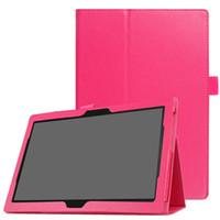 Wholesale lenovo 10 inch tablet resale online - PU Cover Case for Lenovo TAB Plus TB X704N TB X704F TB X704 TB X304F TB X304N TB X304 inch Tablet Stylus Pen