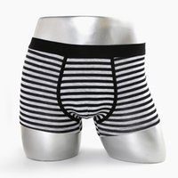 Wholesale Thong Sale For Men - 2017 New Man Stripe Four Angle Pants Manufactor Sales 100% cotton for men s sexy underwears briefs pouch leather thong