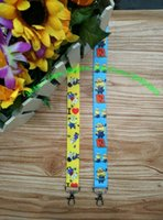 Wholesale Despicable Action - Free shipping New 50pcs lot Despicable Me2 Fashion Straps Cartoon Action Mobile Phone Lanyards Keychains for business L-1126