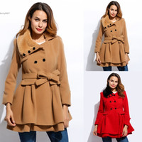 Dropshipping Dark Red Wool Coat UK | Free UK Delivery on Dark Red ...