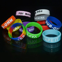 Wholesale mask heat for sale - Decorative and Protection Mod Vape Band Silicone Custom Rubber Vape Rings Ecig Silicon Vape Band Non Slip Rubber Bands