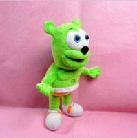 Wholesale Song Electronics - 30cm Gummy Bear Plush  Toy Electronic Pets Toys Can Sing  I 'm your gummy bear Songs with 45seconds