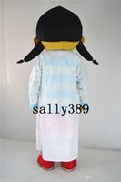 Wholesale Doctor Mascot Costumes - 2017 new little doctor mascot high quality cartoon costume girl Character Customize Adult fancy dress party carnival parade free shipping